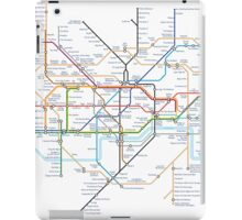 Tube Map as Film Genres iPad Case/Skin