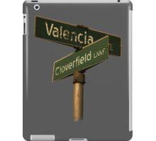 Valencia Ave & Cloverfield Lane iPad Case/Skin