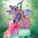 Joyful Fairy .. fantasy art by LoneAngel