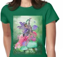 Joyful Fairy .. fantasy art Womens Fitted T-Shirt