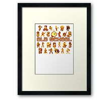Golden Age of Gaming Framed Print