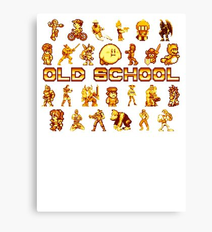 Golden Age of Gaming Canvas Print