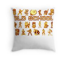 Golden Age of Gaming Throw Pillow