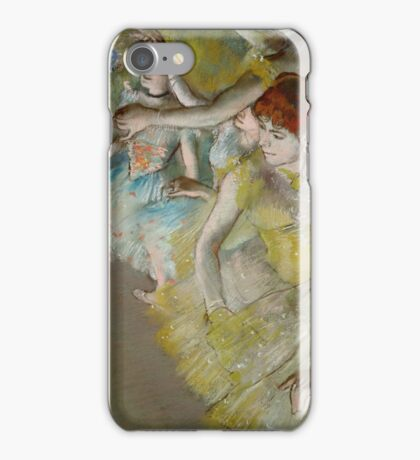 EDGAR DEGAS  - BALLET DANCERS ON THE STAGE,  iPhone Case/Skin