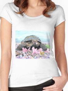 Roxy the Turtle Women's Fitted Scoop T-Shirt
