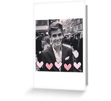 Joe Sugg pink hearts Greeting Card