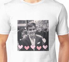 Joe Sugg pink hearts Unisex T-Shirt