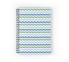 Foggy Geometry mood Spiral Notebook