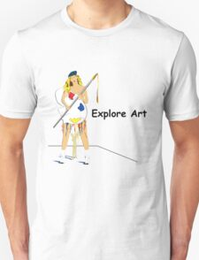 Explore Art Unisex T-Shirt