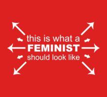 What A Feminist Looks Like One Piece - Long Sleeve