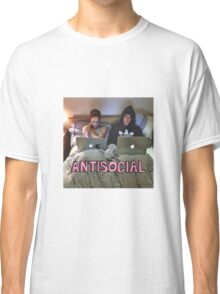 Joe and Caspar Antisocial Classic T-Shirt