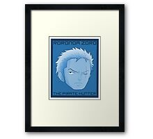 The 2nd (Blue Theme) Framed Print