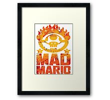 Mad Mario- fury road Framed Print