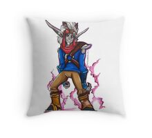 Dark Jak Throw Pillow