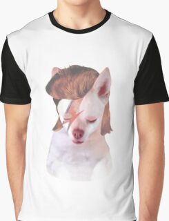 Ziggy Stardust Chihuahua Graphic T-Shirt