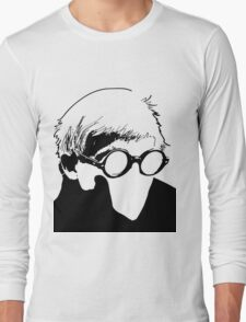Hockney - vacant expression Long Sleeve T-Shirt