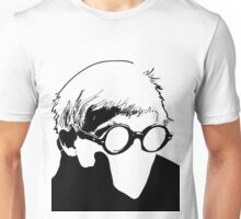 Hockney - vacant expression Unisex T-Shirt