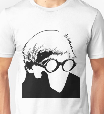 Hockney - vacant expression Unisex T-Shirt