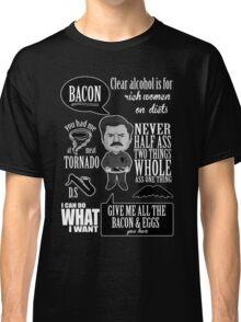 Ron Swanson Montage  Classic T-Shirt