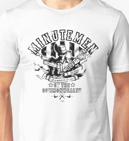 Minutemen Of The Commonwealth Unisex T-Shirt