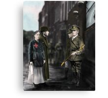 The Surrender of the Sword Canvas Print