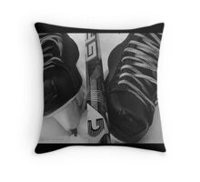 Ice Time Throw Pillow