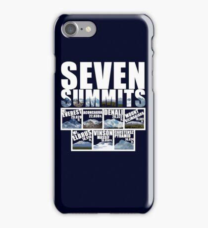 Seven Summits iPhone Case/Skin