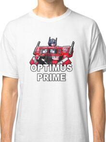 Transformers Optimus Prime MASTERPIECE Classic T-Shirt