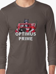 Transformers Optimus Prime MASTERPIECE Long Sleeve T-Shirt