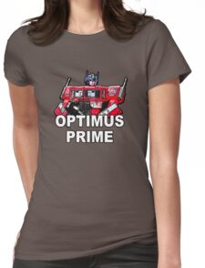 Transformers Optimus Prime MASTERPIECE Womens Fitted T-Shirt