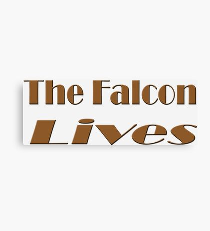 The Falcon Lives Canvas Print