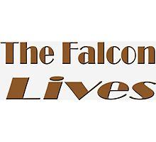 The Falcon Lives Photographic Print