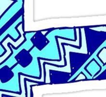 letter F Sticker