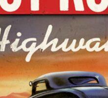 hot rod : highway Sticker