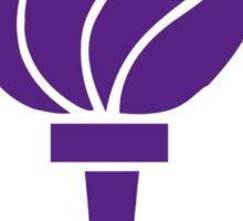 New York University Torch Sticker