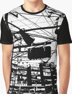 telephone poles 2 Graphic T-Shirt