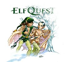 One-Eye and Clearbrook by elfquest