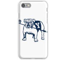 Yale University Bulldog Mascot iPhone Case/Skin