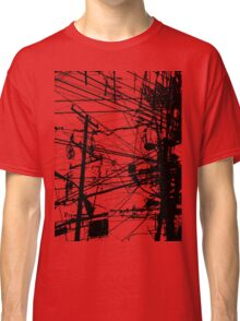 telephone poles Classic T-Shirt