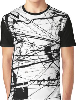 telephone poles Graphic T-Shirt