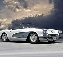 1959 Corvette 'Fuel Injected' Roadster by DaveKoontz