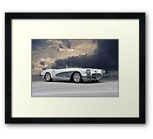 1959 Corvette 'Fuel Injected' Roadster Framed Print