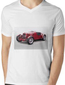 1938 Aston Martin Vintage Racecar Mens V-Neck T-Shirt