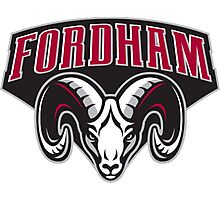 Fordham University Rams Logo Photographic Print