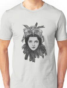 Dame Bird Skull Unisex T-Shirt