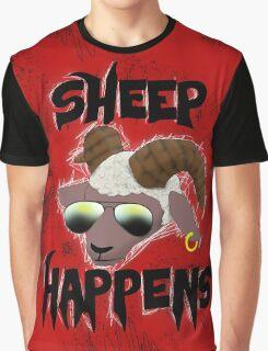 Sheep Happens Graphic T-Shirt