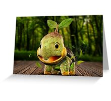 Realistic Pokemon: Turtwig Greeting Card