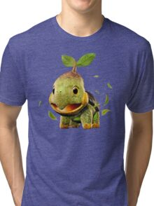Realistic Pokemon: Turtwig Tri-blend T-Shirt