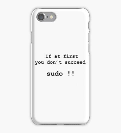 sudo  iPhone Case/Skin
