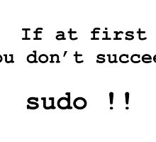 sudo  by Jugulaire